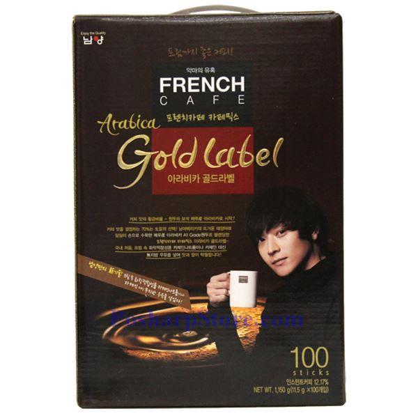 分类图片 Namyang French Cafe牌韩国速溶咖啡(金标) 100小袋 1150克