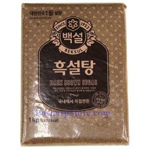 Picture of Beksul Korean Dark Brown Sugar 2.2 Lbs