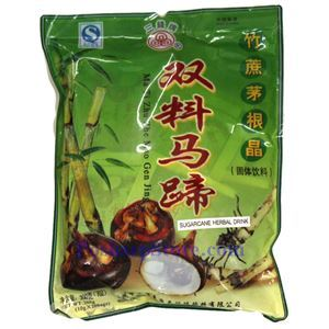 Picture of Triple Coins Instant Water Chestnut & Sugarcane Drink Powder 7oz