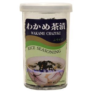 图片 JFC牌日式绿茶裙带菜拌饭调料50克