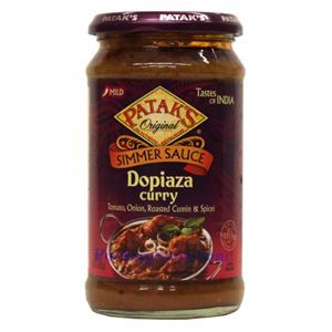 Picture of Patak's Simmer Sauce Dopiaza Curry (Mild Spicy)   15 Oz