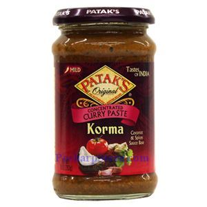 Picture of  Patak's Concentrated Curry Paste Korma (Mild Spicy)  15 Oz