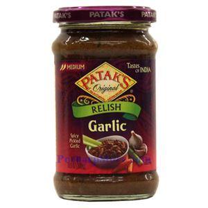 Picture of Patak's Garlic Relish (Medium Spicy)  10.5 Oz