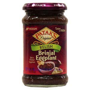 Picture of Patak's Brinjal Eggplant Relish (Medium Spicy)  10 Oz