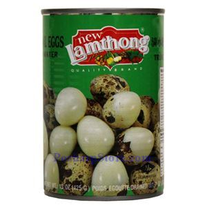 Picture of Lamthong Quail Eggs in Water 15 Oz