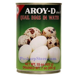Picture of Aroy-D Quail Eggs in Water 15 Oz