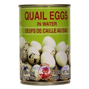Picture of Cock Brand Quail Eggs in Water 15 Oz