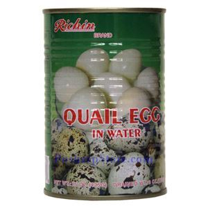 Picture of Richin Quail Eggs in Water 15 Oz