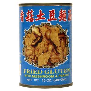 Picture of Wuchung Fried Gluten With Mushroom and Peanut 10 Oz
