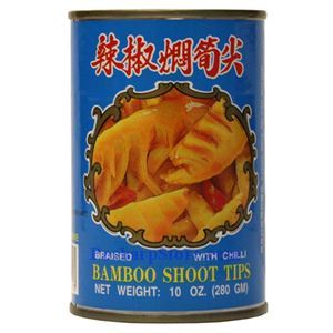 Picture of Wuchung Bamboo Shoot Tips Braised With Chili 10 Oz