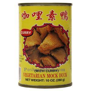 图片 伍中牌咖喱素鸡 280克