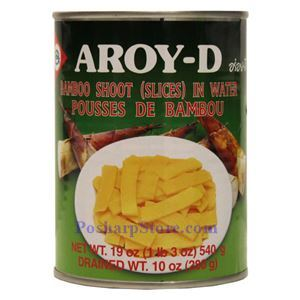 Picture of Aroy-D Bamboo Shoot Slices in Water 19 Oz