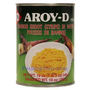 Picture of Aroy-D Bamboo Shoot Strips in Water 19 Oz
