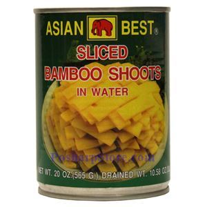 Picture of Asian Best Sliced Bamboo Shoot in Water 20 Oz