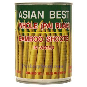 Picture of Asian Best Whole Bamboo Shoot in Water 20 Oz