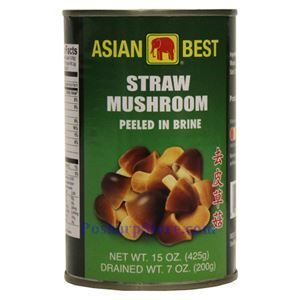 Picture of Asian Best Peeled Straw Mushrrom in Brine 15 Oz