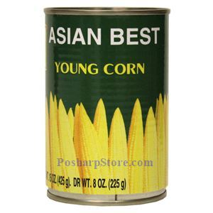 Picture of Asian Best Young Corns in Brine 15 Oz