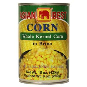 Picture of Asian Best Whole Kernel Corns In Brine 15 Oz