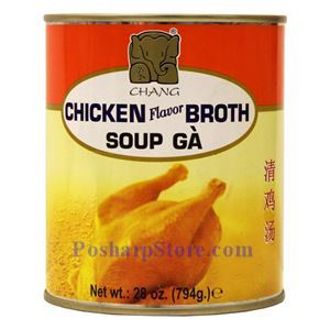 Picture of Chang Chicken Broth 28 Oz