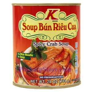 Picture of K Brand Vietnamese Style Spicy Crab Broth 28 Oz