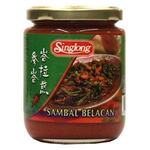 图片 Singlong牌马来西亚峇拉煎参峇辣椒酱 230克