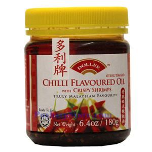 Picture of Dollee Malaysian Chili Oil with Crispy Shrimp 6.7 Oz