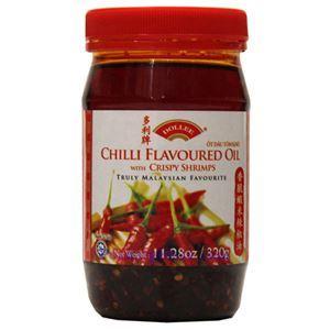 图片 都丽牌马来西亚香脆虾米辣椒油 320克