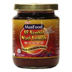 Picture of Masfood Malaysian Nasi Lemark Sambal 9 Oz