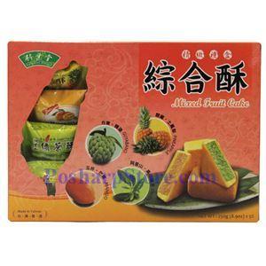 图片 竹叶堂牌台湾综合果酥 250克