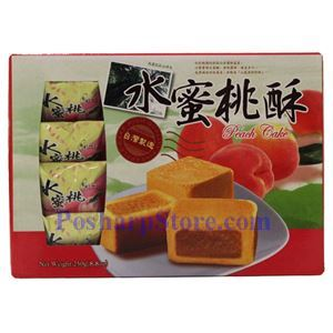 Picture of Bamboo House Taiwan Peach Cake 8.8 oz