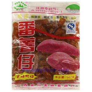 Picture of Maifeng Preserved Red Sweet Potatoes 17.6 oz