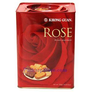 图片 新加坡康元牌玫瑰饼干什锦 700克