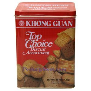 Picture of Khong Guan Singaporean Top Choice Biscuit Assortment 2.6 Lbs