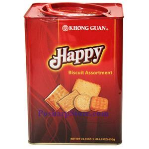 Picture of Khong Guan Happy Biscuit Assortment 22.9 Oz