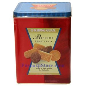 Picture of Khong Guan Biscuit Temptation 31 Oz