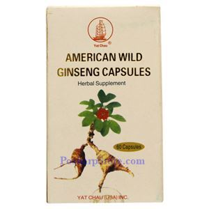 Picture of Pat Chau American Wild Ginseng Capsule 60 Capsules