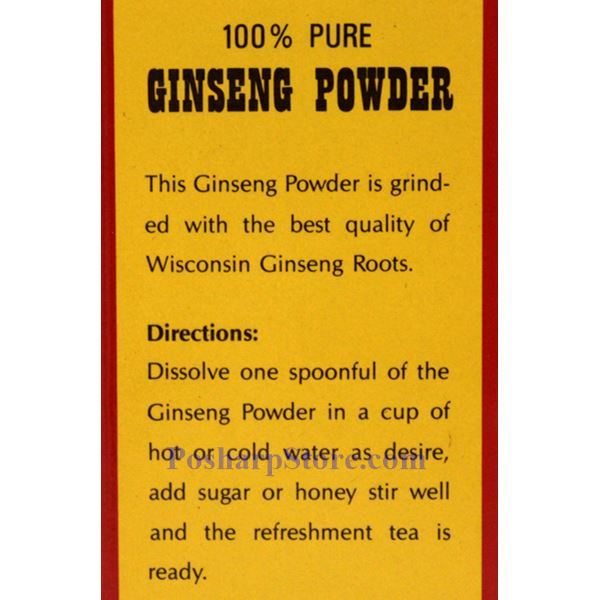 Picture for category Magic Drop 100% Pure American Ginseng Powder 3 Oz