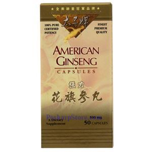 Picture of Prince of Peace American Ginseng Capsule 50 Capsules