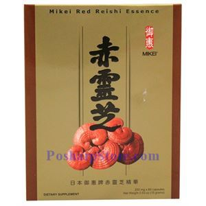 Picture of Mikkei Red Reishi Essence  60 Capsules x 250mg