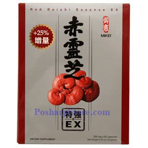 Picture of Mikei Red Reshi Essence Ex  60 Capsules x 250mg