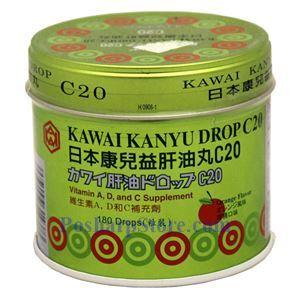 图片 Kawai牌日本康儿益肝鱼丸 180粒
