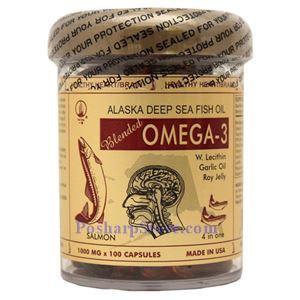图片 一洲牌四合一高级复合鱼油(Omega-3) 100胶囊