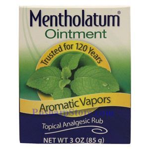 Picture of Mentholatum Ointment Aromatic Vapors (Topical Analgesic Rub) 3 Oz