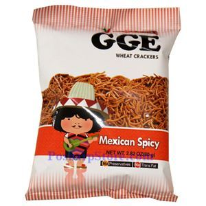 Picture of GGE Mexican Spicy Wheat Crackers 2.8 Oz