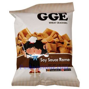 Picture of GGE Soy Sauce Ramen Wheat Crackers 2.8 Oz