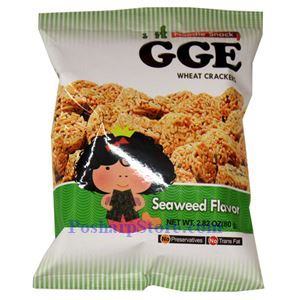Picture of GGE Seaweed Flavor Wheat Crackers 2.8 Oz