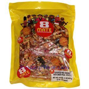 Picture of Shirakiku 8 Mate Assorted Rice Crackers 16 Oz