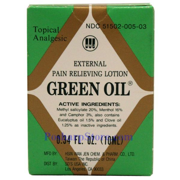 Picture for category Green Oil Brand External Pain Relieving Lotion 0.34 Fl Oz