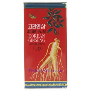 Picture of Koryo Insam Korean Standard Ginseng 15,  16 oz