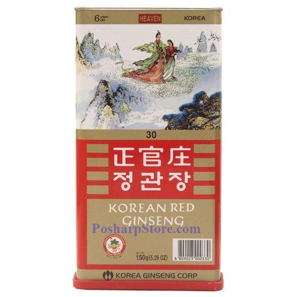 分类图片 韩国高丽参 30,  150克